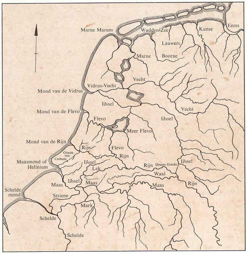 oudste kaart nederland